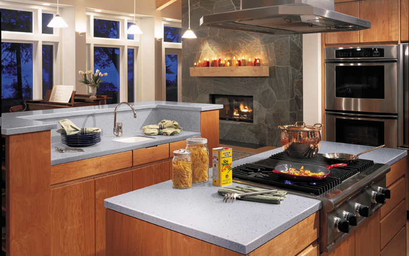 Staron countertops robertson kitchens erie pa robertson for Kitchen cabinets erie pa